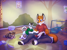 brotherly bonding by High-Yote
