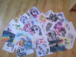 My drawings by JellieLucy