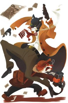 Bad news Blacksad by galgard