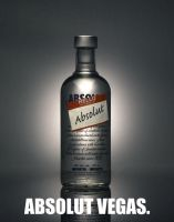 Absolut vodka publicity by Hellvicks