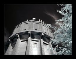 IR - water tower by Raymate