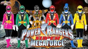 Power Rangers Super Megaforce WP by jm511