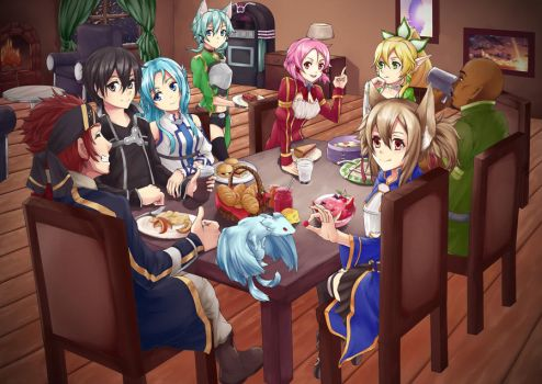 SAO Friends Meeting by Huksly