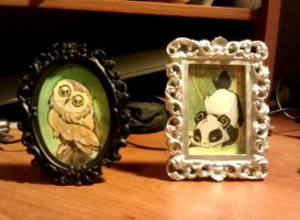 More Tiny Paintings by SentWest