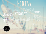 -Fonts by osukatutoriales