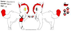 Checkers Ref by twilightclaws242