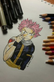 Natsu Dragneel from Fairy Tail by Kata-tyan