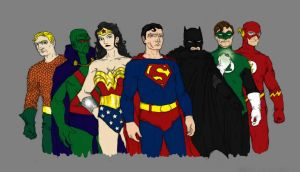 The Justice League of America by SEELE-02