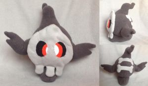 Duskull Plush by Plush-Lore