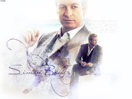 Simon Baker by miraradak