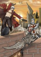 Dante vs Dante by Autumn-Sacura