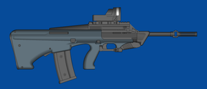 Bluearms. Assault Rifle  M565 by andyshadow26