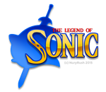 The Legend Of Sonic Logo by NuryRush