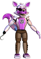 Funtime Pirate Foxy by FNaFEditorist50