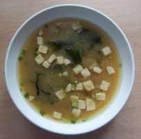tofu miso soup by katchup