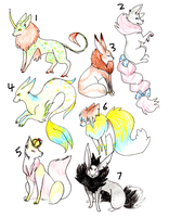 Canine Adoptables 2 by cosmicForecast
