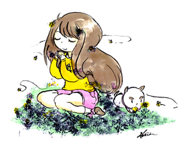 Bee and Puppycat by The-EverLasting-Ash