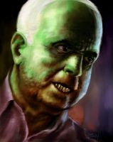 John McCain Monster Portrait by nickbachman
