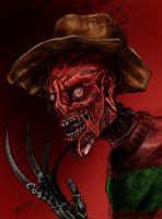 Freddy Krueger by Dachelle