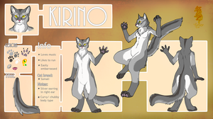 Reference sheet - Kirino by LuxuryCat