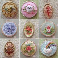 Miniembroidery by merwing