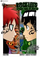 Springtime of youth : Rock Lee vs Gaara! by BlazeMizu