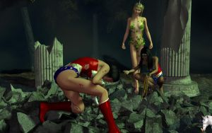 The next Wonder Woman? by EvilUnicorn