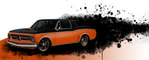 German Muscle Car by LadyDeuce