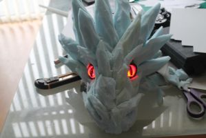New Bankai dragon head by smallfry09