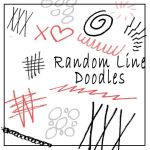 Random Line doodles by Red--Roses
