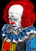 Pennywise ( Stephen King's IT) by JosefVonDoom