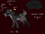 Coal new OC by spiritwolf1999