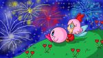 watching the fireworks by ninpeachlover