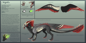 Reference - Malphas by Arkaios