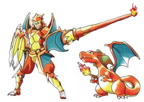 Pokemonster Hunter Charizard by tRickityhouses