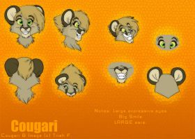 New Cougari Head by nanook123