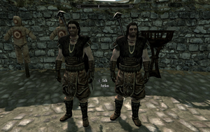 Farkas 'n Vilkas in Stormcloak Officer Armour by Mediziner