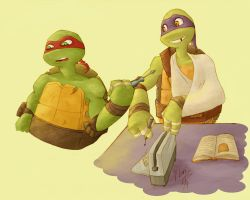 TMNT-Donnie's little helper by dgLari