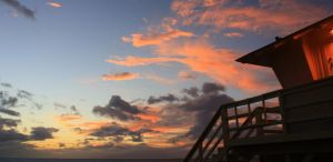 Lifeguard tower by cjsayers