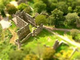 Ruins tilt shift by emsox