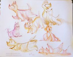 Scotties Sketches by kiki-doodle