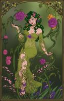 Poison Ivy Maker ~ Sprite of Spring by MiniatureBlueOwl