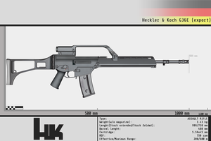 Heckler and Koch G36E by Gasteiz