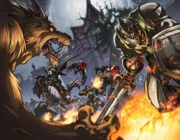 WoW Curse of the Worgen 4 p2-3 by Tonywash