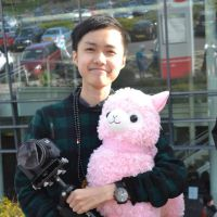 Me with Alpaca and Flycam Rig (Midlands MCM) by KimNguyxn