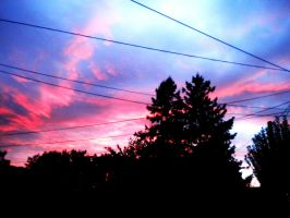 Pink Sky at Night by FireFlyBliss91