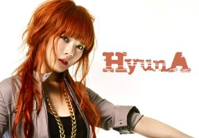HyunA Wallpaper by kittyloveskpop