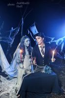 Corpse Bride -Emily and Victor by NatalieCartman