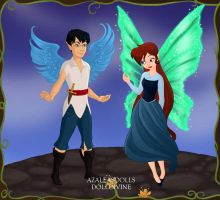 Ariel and Eric Pixies 2 by Arimus79