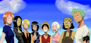 Straw Hat Pirates by FirstTheWorst